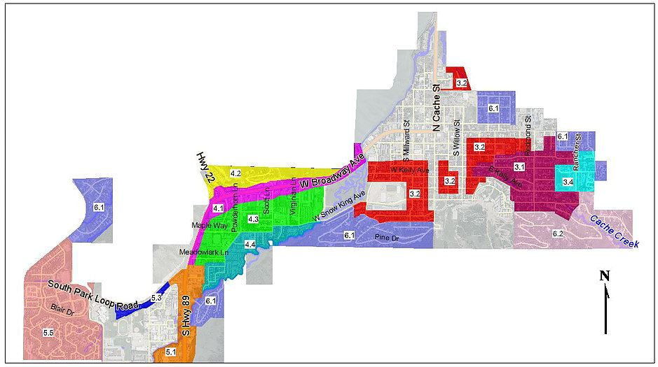 Town Parking Management Map